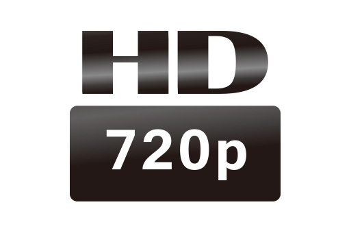 HD720p resolution